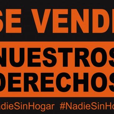 Comunicado ante las declaraciones de Esperanza Aguirre sobre la situación de las personas sin hogar en Madrid