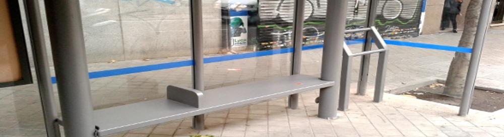 """Actúa: Marquesinas anti personas """"sin techo"""" en Madrid"""