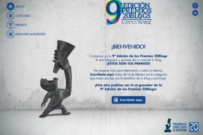 Blog de Realidades, candidato a los Premios 20BLOGS