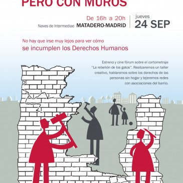 Jornada de sensibilización SIN HOGAR PERO CON MUROS (te esperamos!)