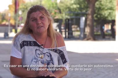 """""""Esto le puede pasar a cualquiera"""", vídeo con testimonios de personas sin hogar"""