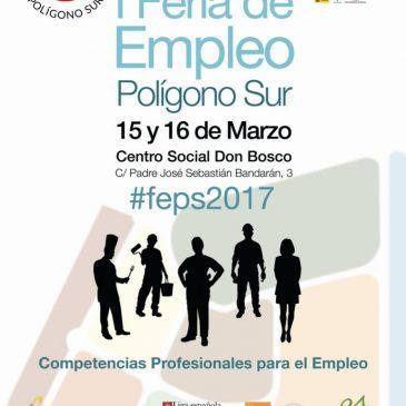 Participamos en la I Feria de Empleo del Polígono Sur de Sevilla