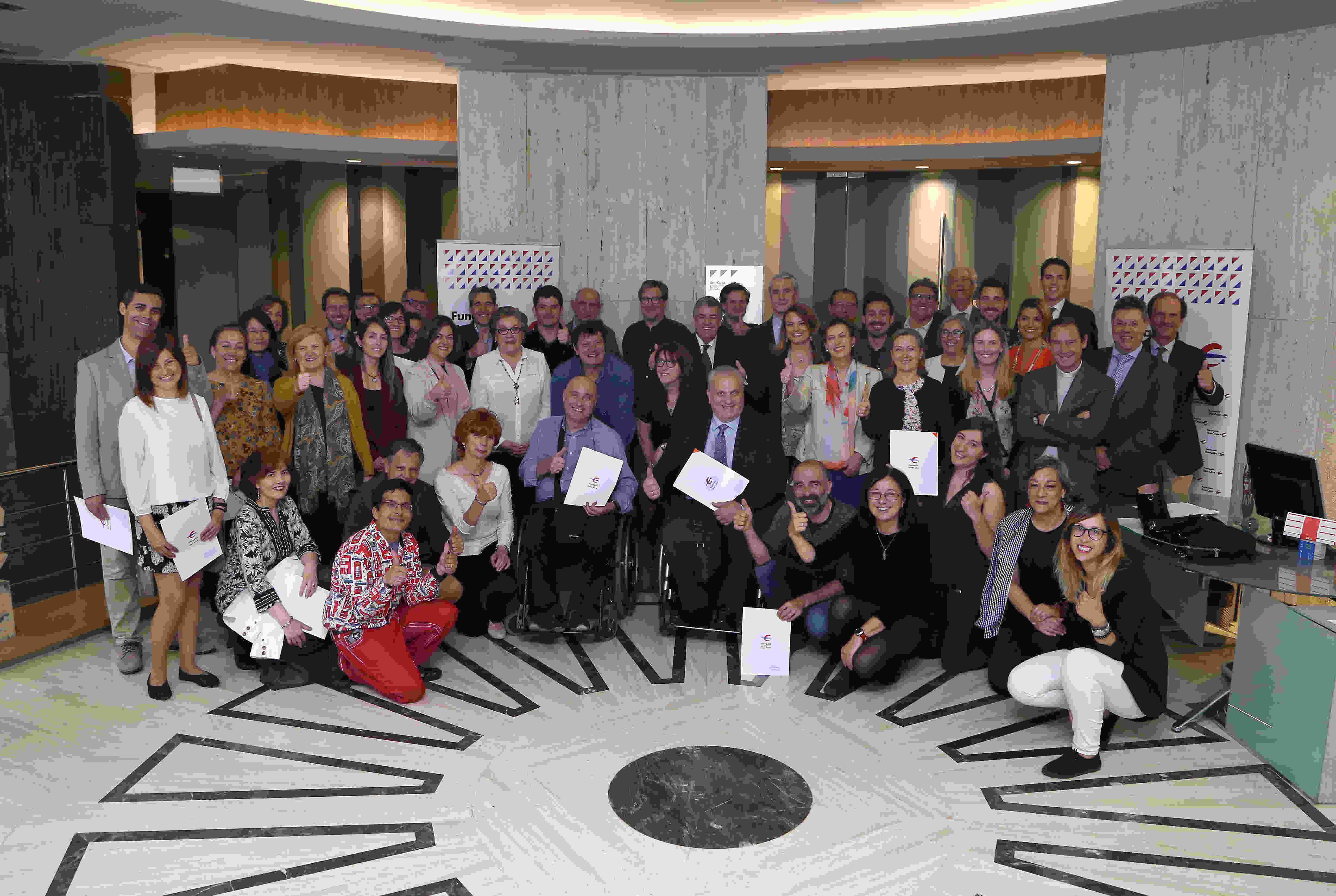 Un año más Ibercaja mantiene su compromiso con Asociación Realidades