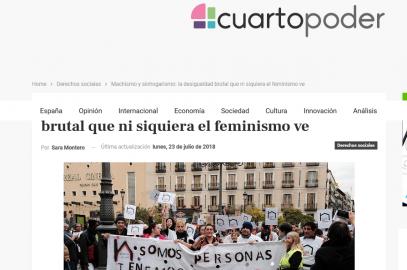 Machismo y sinhogarismo: la desigualdad brutal que ni siquiera el feminismo ve