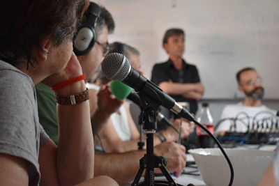 Inauguramos aventura radiofónica en Asociación Realidades