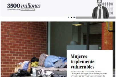 Mujeres triplemente vulnerables