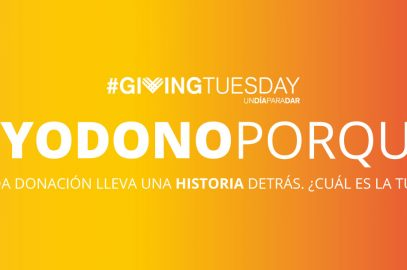 Participamos en el #GivingTuesday
