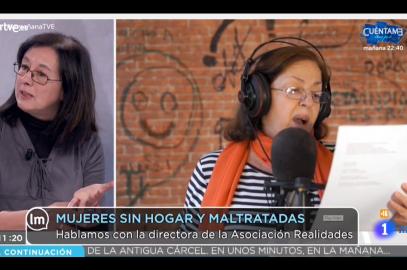 Gloria García, Directora de Asociación Realidades, participa en La Mañana de TVE