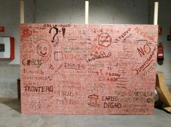 Crónica de la Jornada «Sin hogar pero con muros»
