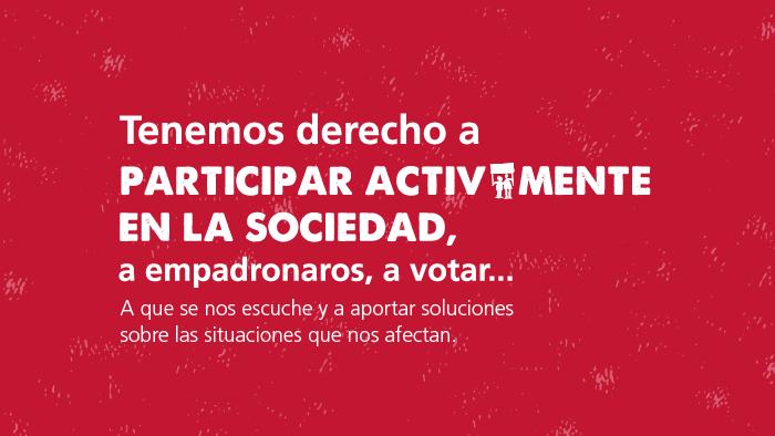 Las personas sin hogar tenemos derechos, los mismos que toda la ciudadanía: #NOCALLES
