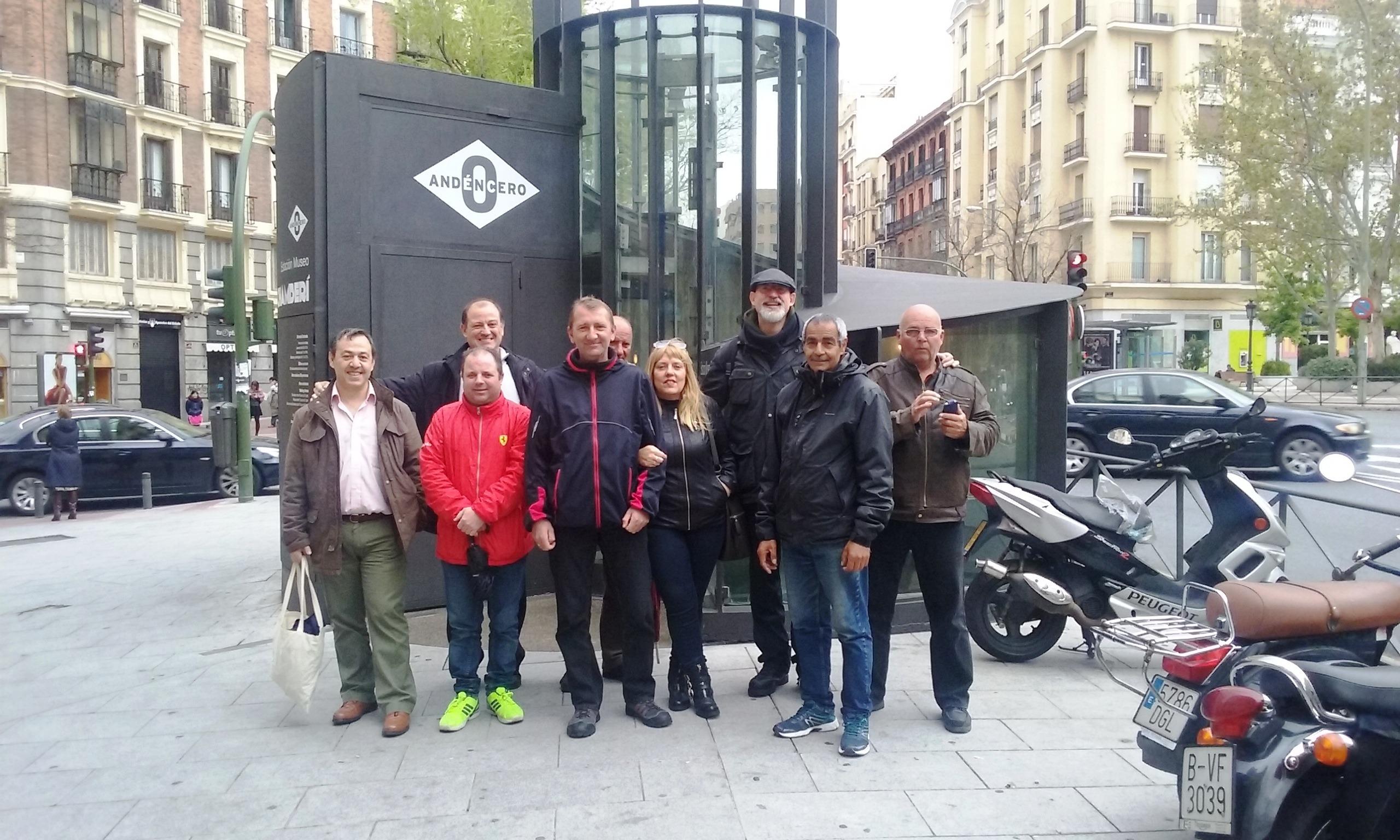 Visitamos el Andén 0 con Metro de Madrid