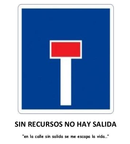 Acto en Alcalá de Henares por el Día de las Personas Sin Hogar: SIN RECURSOS NO HAY SALIDA