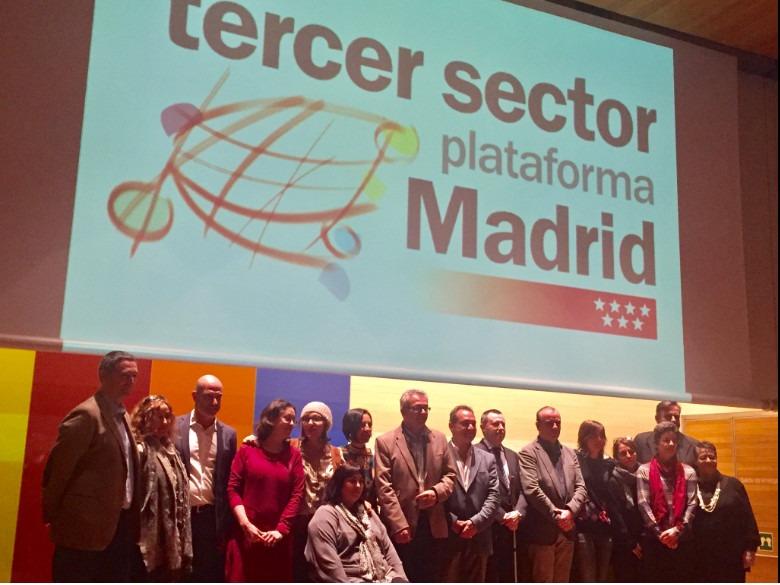 Nace la Plataforma del Tercer Sector de la Comunidad de Madrid