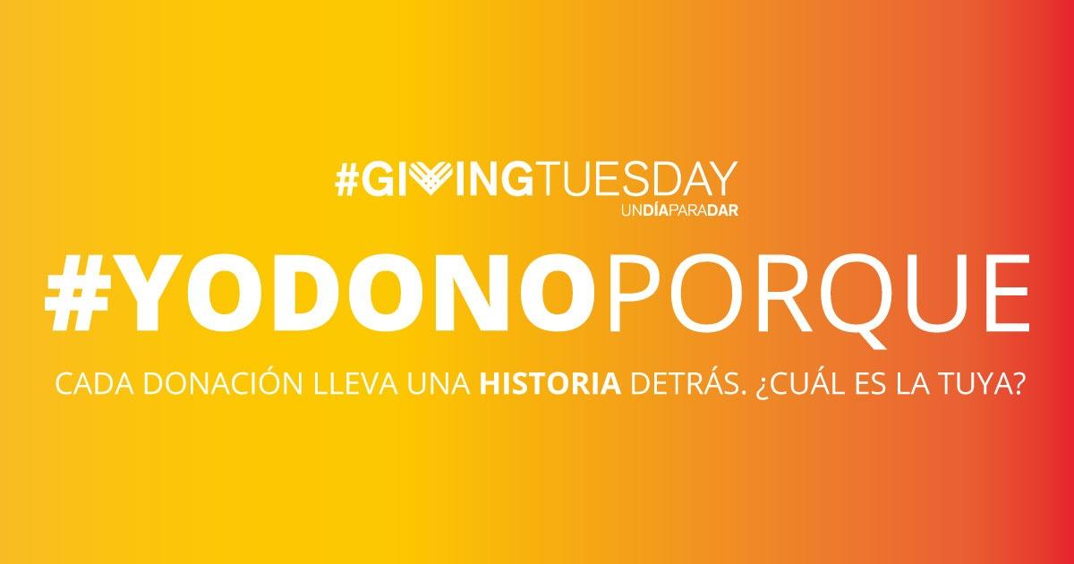 Participamos en el #GivingTuesday