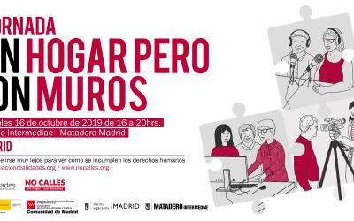 V Jornada 'Sin Hogar pero Con Muros' en Madrid