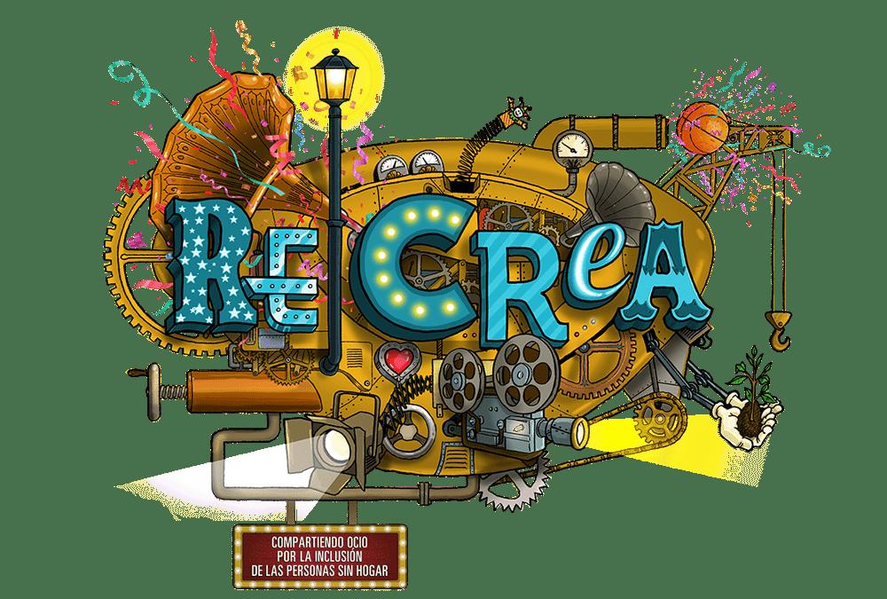Nace RE|CREA, una iniciativa que acerca el ocio y la cultura a las personas que están sin hogar