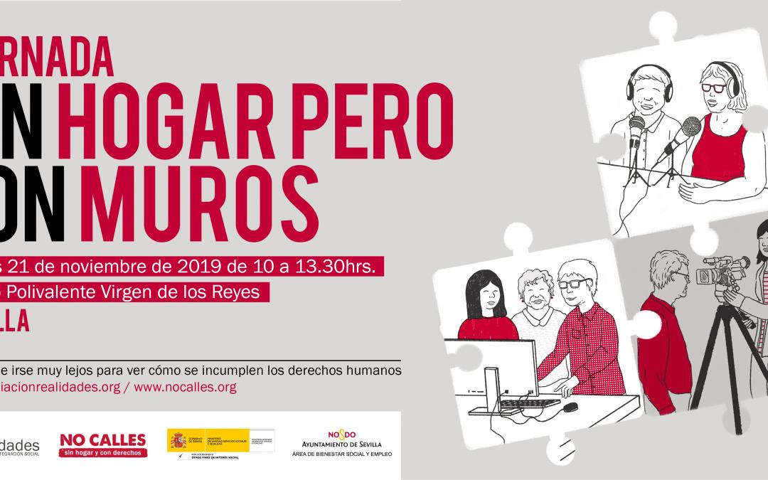 II Jornada 'Sin Hogar pero Con Muros' en Sevilla