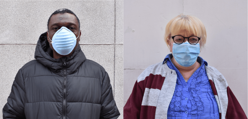 Durante la pandemia, seguimos junto a las personas que están sin hogar