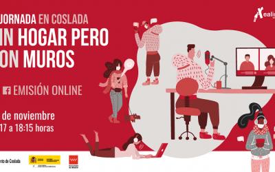 IV Jornada 'Sin Hogar pero Con Muros' desde Coslada (online)