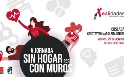 V Jornada 'Sin Hogar pero Con Muros' en Coslada